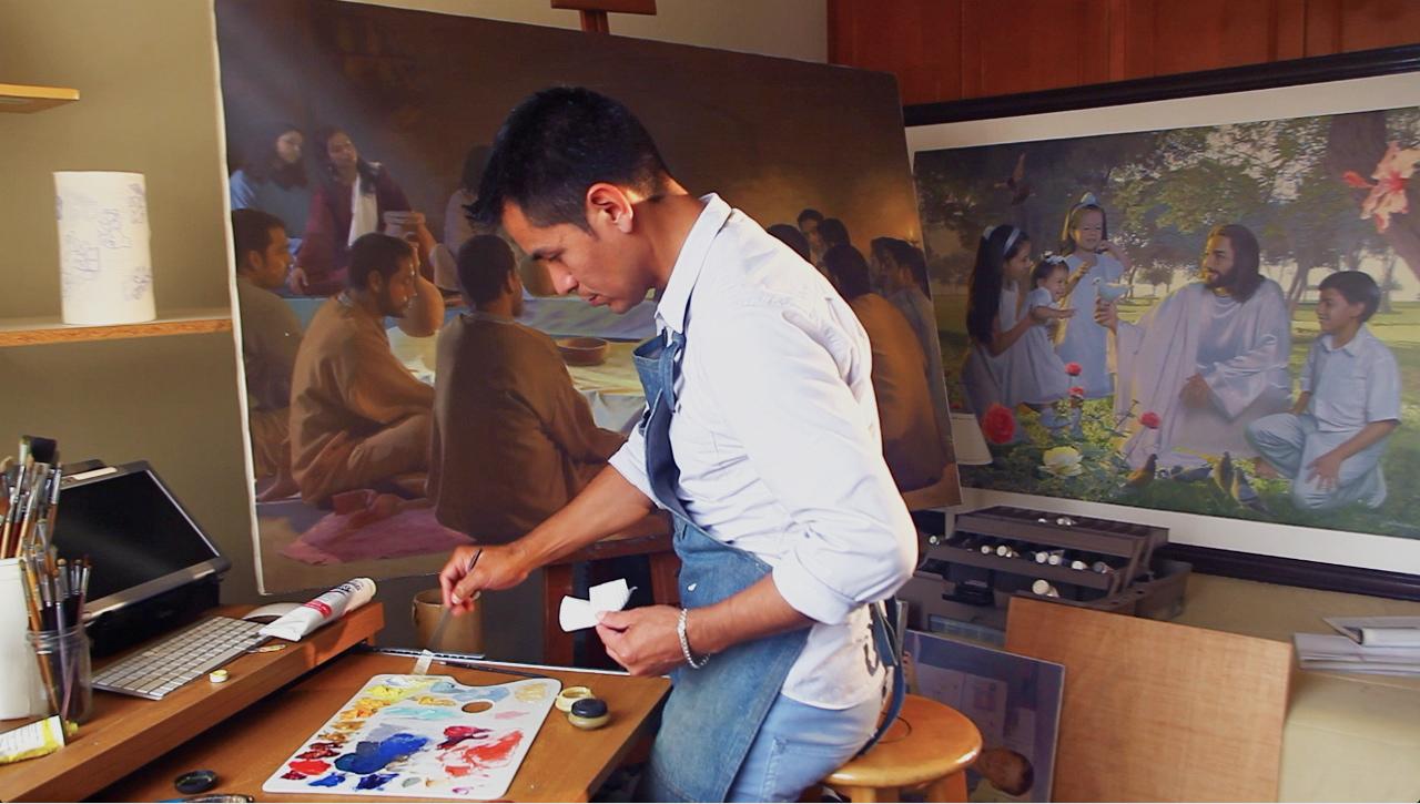 John Zamudio Mormon Artist
