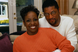 Gladys Knight at Home with Husband William McDowell