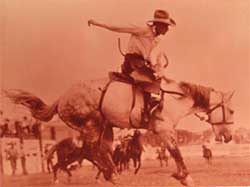 Mormon Earl Bascom in Rodeo
