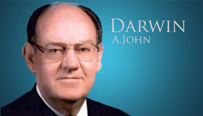 Darwin A. John