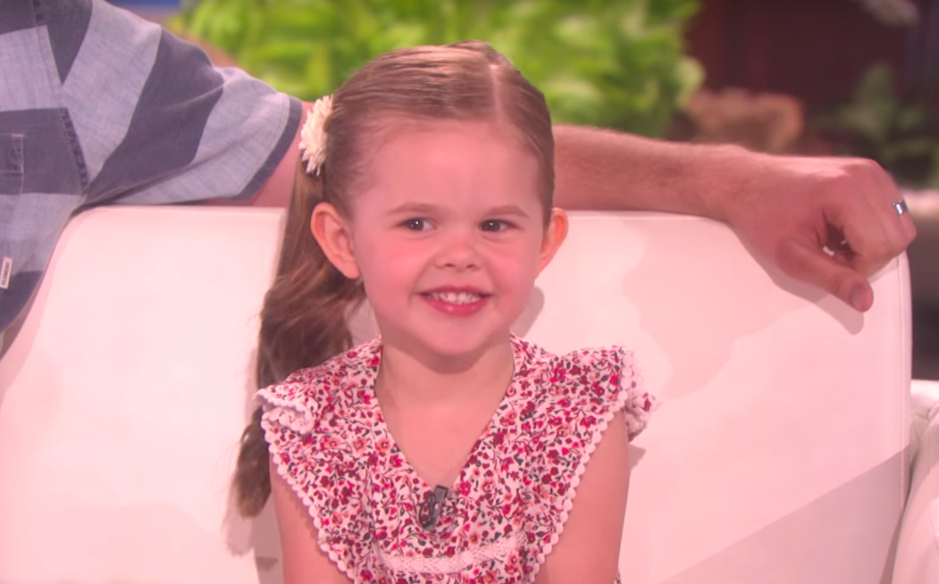 Young LDS Star Claire Ryann Makes Another Appearance on Ellen