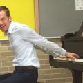 Jason Lyle Black, the Backwards Piano Man