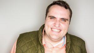 Dalton Johnson, new cast member of Studio C
