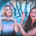 Evynne Hollens joins Nadia Khristean to create a music video to raise awareness for foster care children.