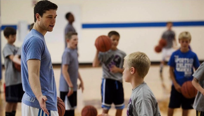 Jimmer Fredette Scored 92 of 100 Three-Pointer Shots for Charity