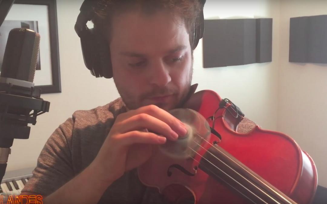 Rob Landes: The Fidget Spinner Violinist