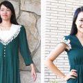 Sarah Tyau dress redesign