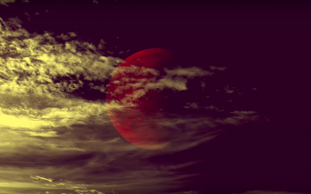 red moon from Paul Cardall's cover of Sign of the Times by Harry Styles