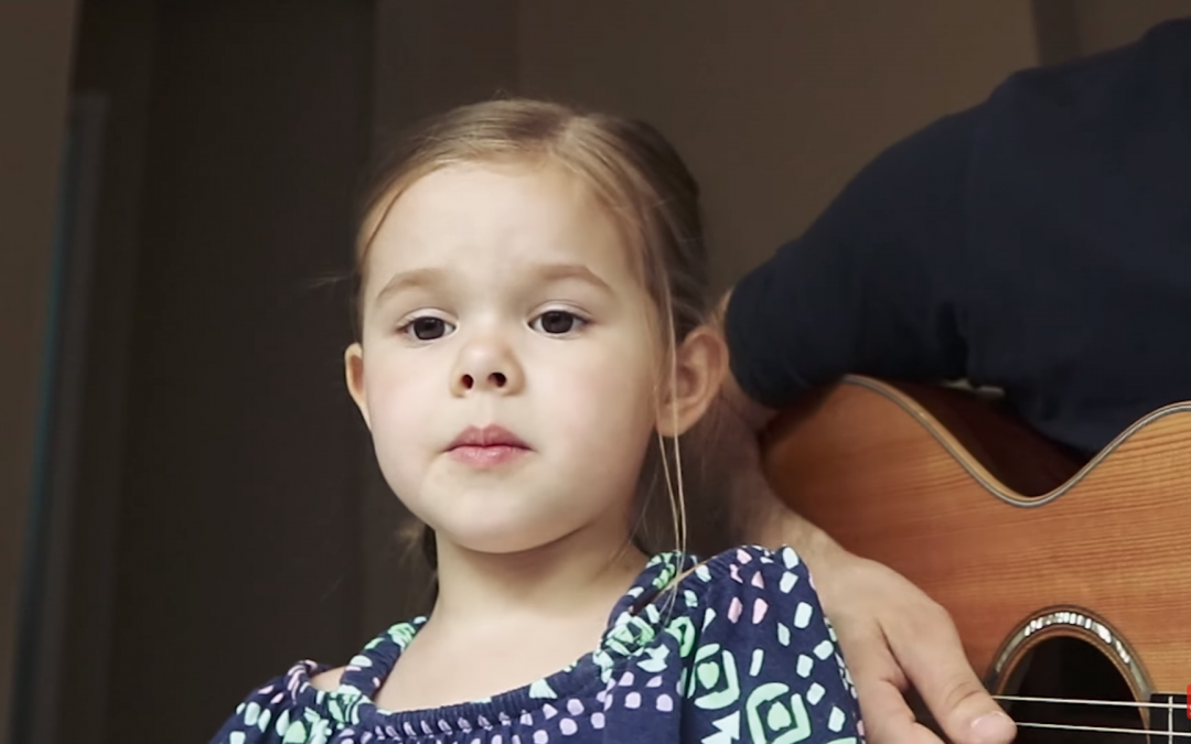"Claire Ryann and Dad's Cover of ""You'll Be In My Heart"" Is Adorable"