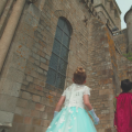 "One Voice Children's Choir music video for ""Something Just Like This"" where a prince and princess are exploring a castle"