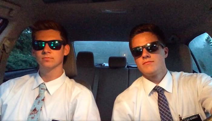Watch these Mormon Missionaries Rap about the Gospel