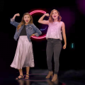 "Brooklyn and Bailey singing in their new music video - ""What We're Made Of"""