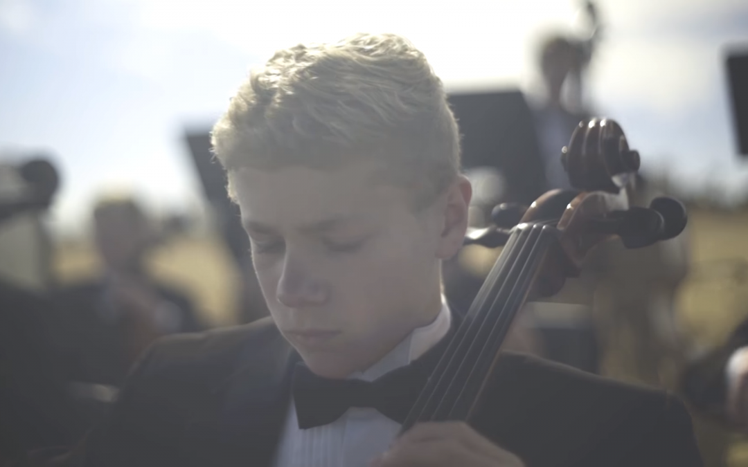 "American Heritage Lyceum Philharmonic Performs Moving Version of ""Be Still My Soul"""