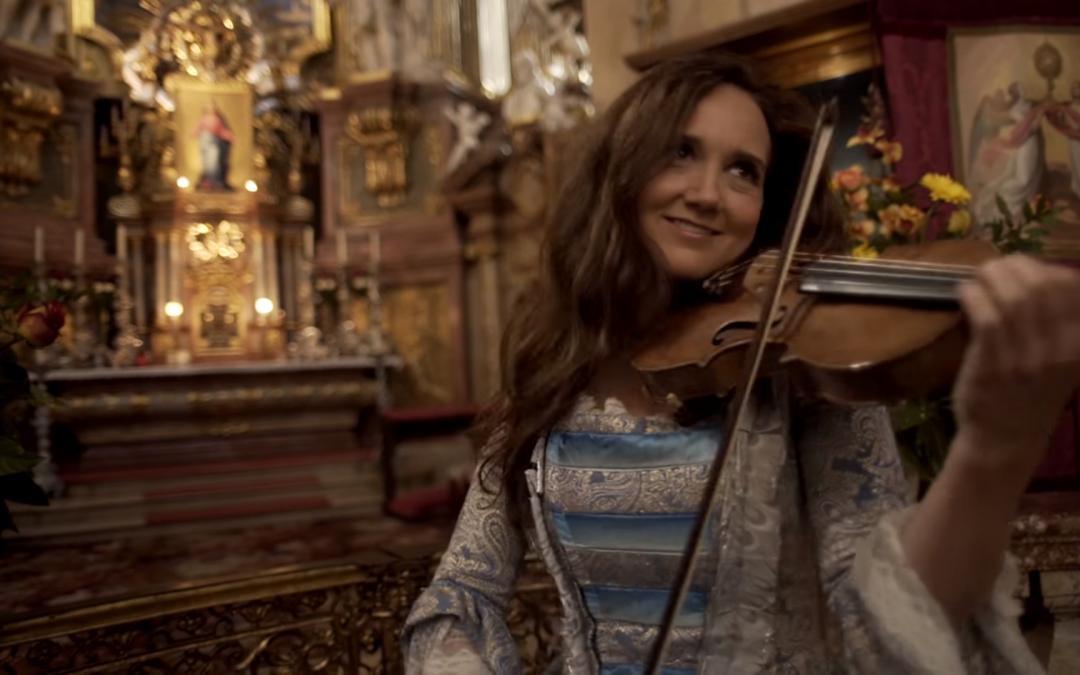 "Jenny Oaks Baker Performs ""Ode To Joy"" In Vienna"