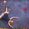 """Mindy Gledhill swimming in her new stop motion music video """"Oh No"""" from Pocketful of Poetry"""