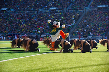 Viral Cosmo the Cougar Video turns into Mascot Rival Dance Competition
