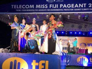 Hally Qaqa - Miss Fiji 2017