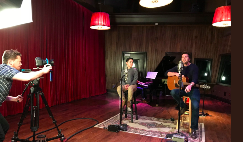 "David Archuleta and Nathan Pacheco come together to sing a cover of Ed Sheerans ""Perfect"""