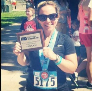 Wendy Garrett - LDS Marathon