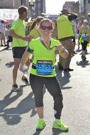 Wendy Garrett - LDS Marathon Runner