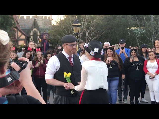A Magical Disney Wedding Proposal to a Mormon Storyboard Artist