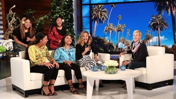 The Tonga Sisters Appear on Ellen