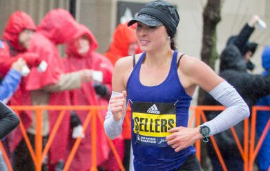 Sarah Sellers - Boston Marathon