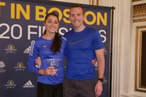 Sarah and Blake Sellers - Boston Marathon