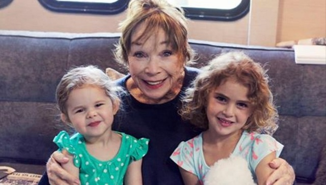 Claire Ryann Crosby and Shirley MacLaine The Little Mermaid