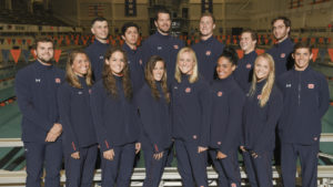 Auburn University Swimming and Diving Team
