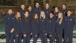 Auburn University Swimming and Diving Team