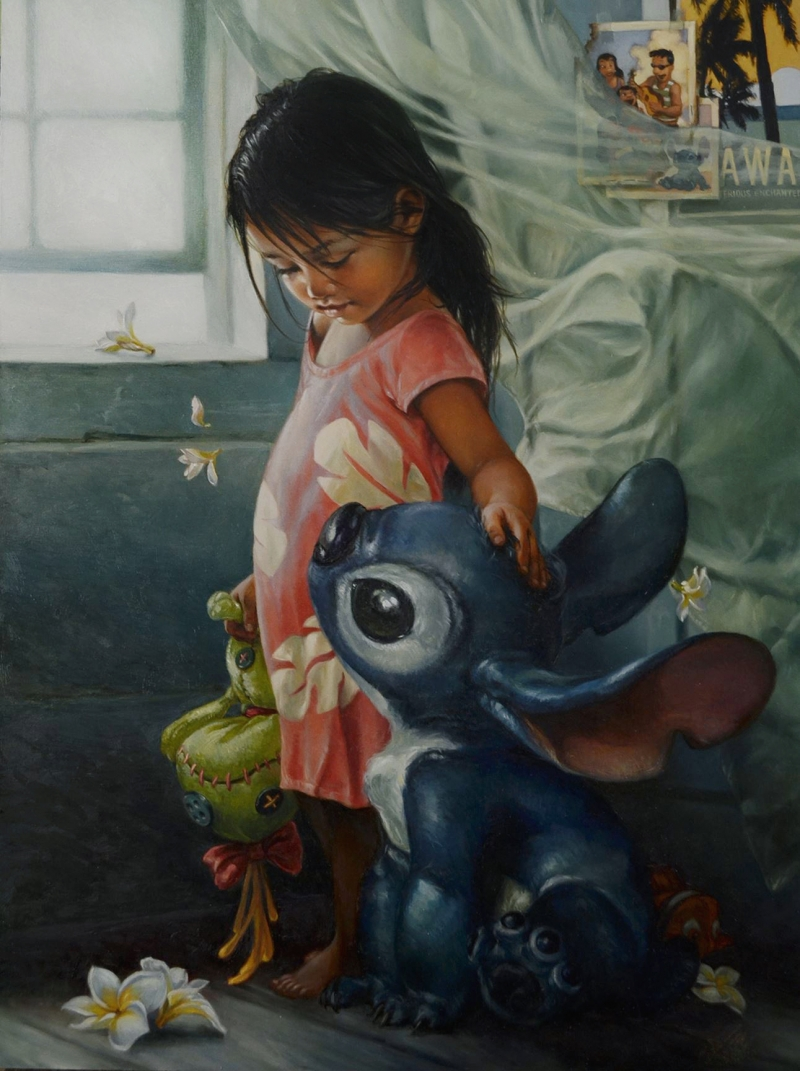 Heather Theurer Lilo and Stitch