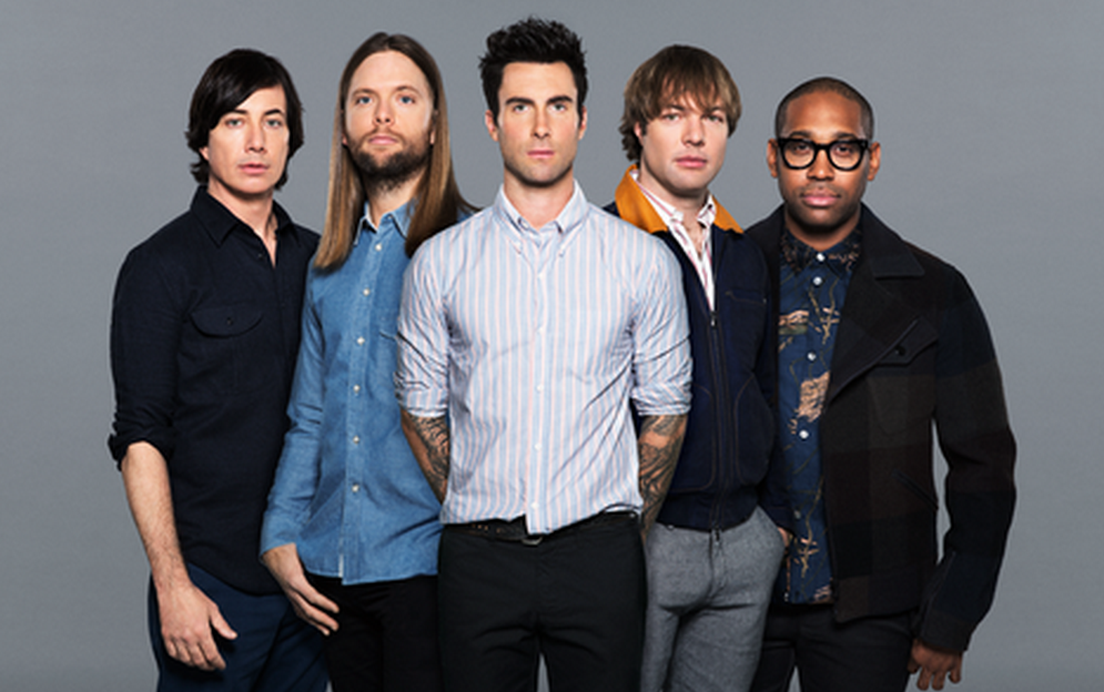 James Valentine with maroon 5