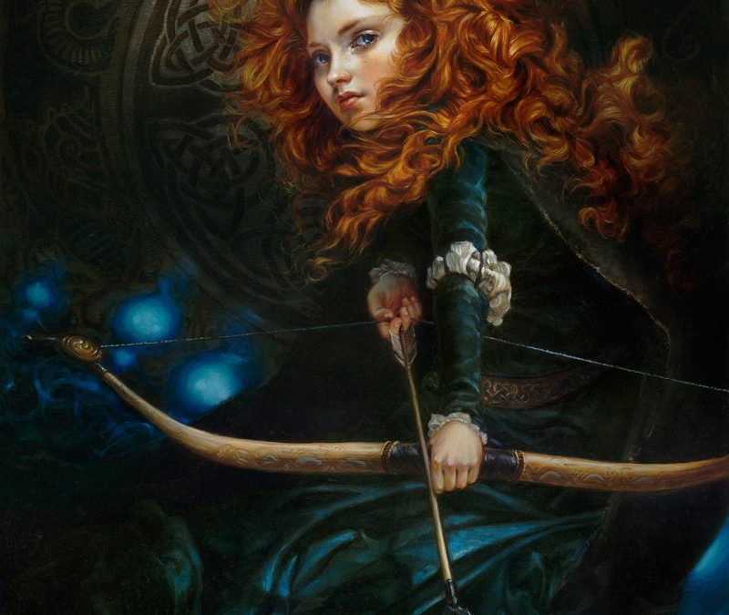 Heather Theurer Brave Merida
