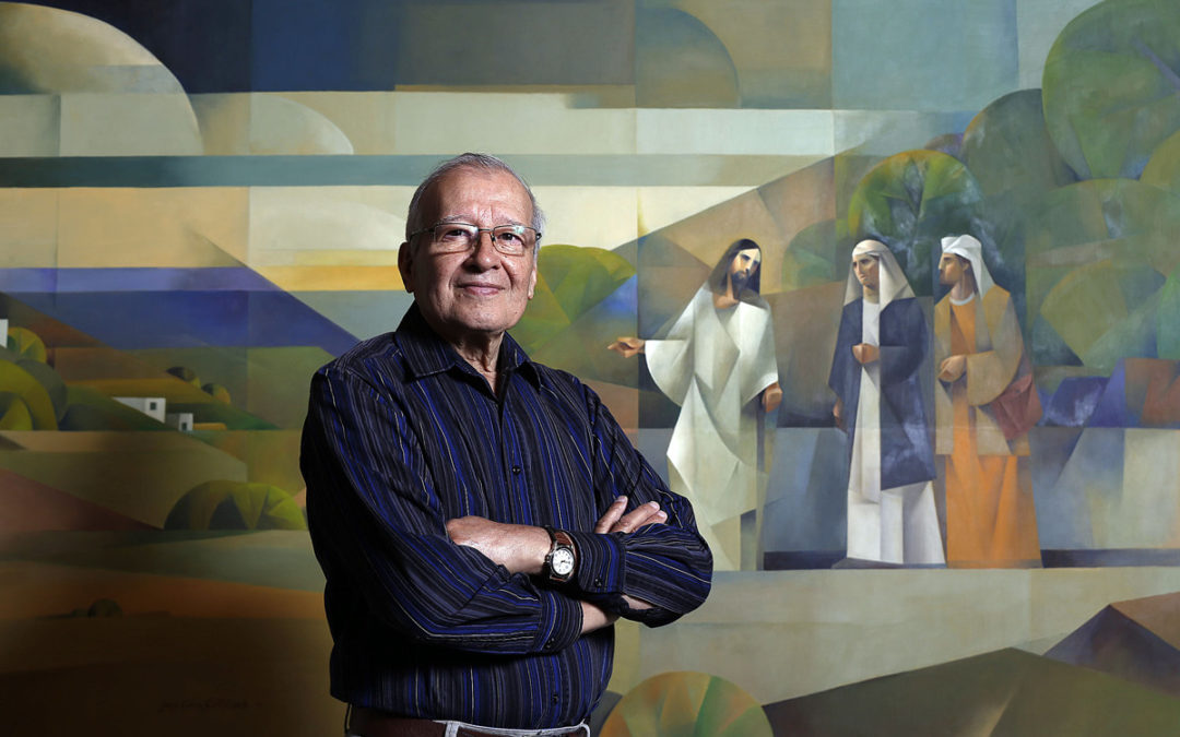 Jorge Cocco's Paintings Provide a Different View on Christ's Ministry