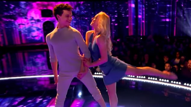 Charity Anderson and Andres Peñate - World of Dance