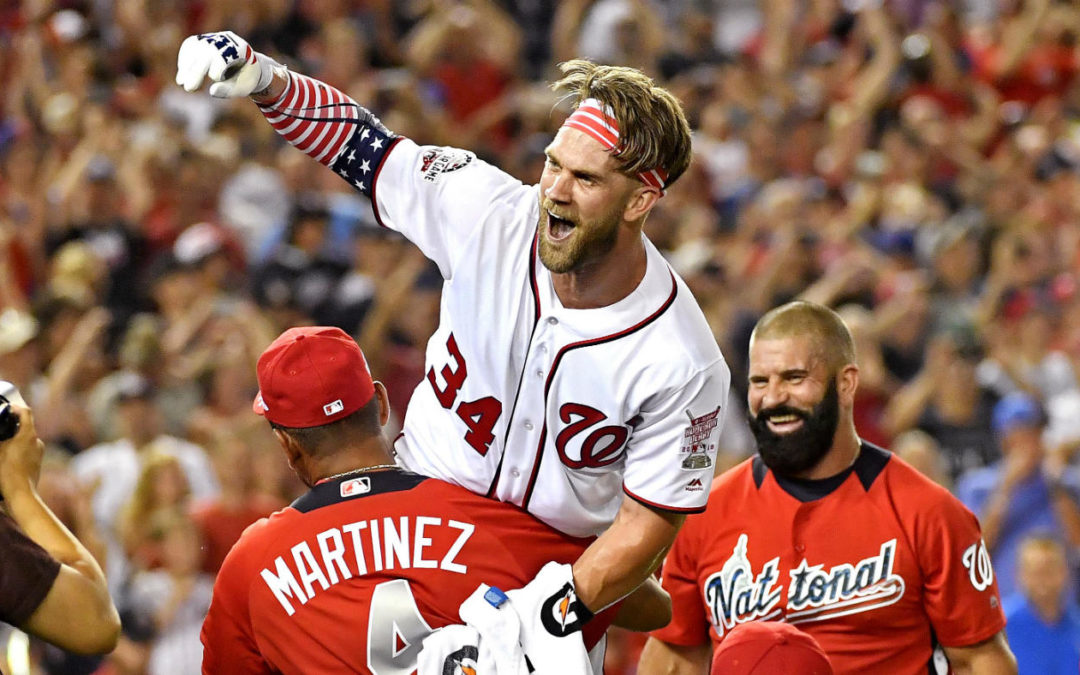 Bryce Harper Wins the 2018 Home Run Derby