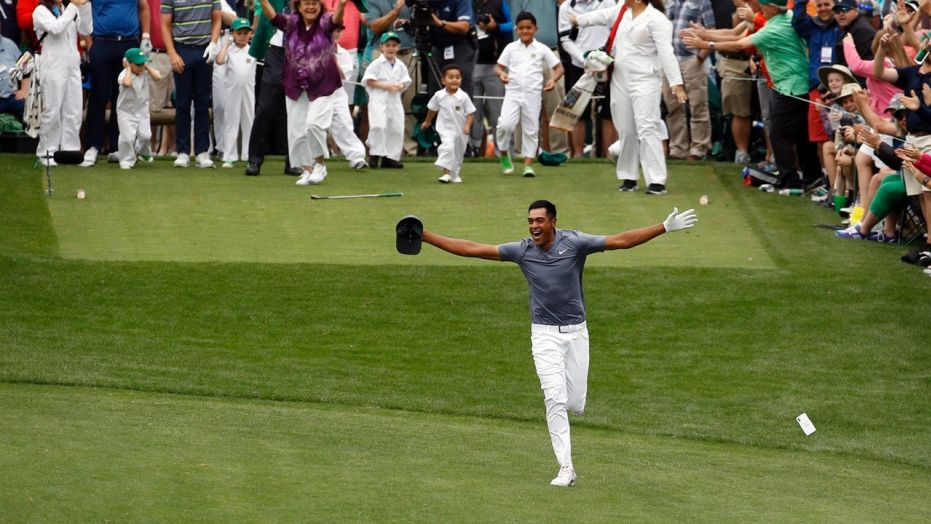 Tony Finau Becomes the Only Golfer in the World to Finish in the Top 10 at Masters, U.S. Open, and British Open