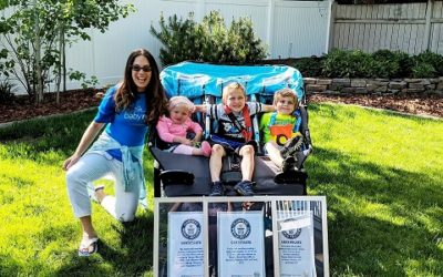 Theresa Marie Pitts Sets Guinness World Record for Running Fastest Marathon While Pushing Triple Stroller