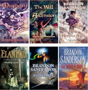 Brandon Sanderson - Books