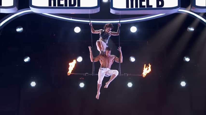 Duo Transcend - America's Got Talent - Trapeze Act