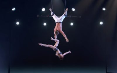 "Utah Couple Trapeze Act Lands Them in Top 10 Finalists on ""America's Got Talent"""