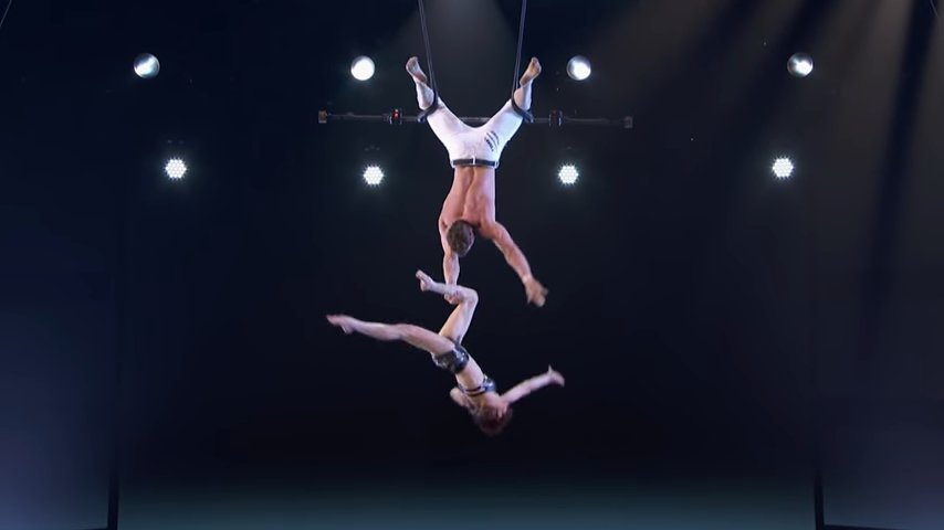 Duo Transcend - AGT - Trapeze Act