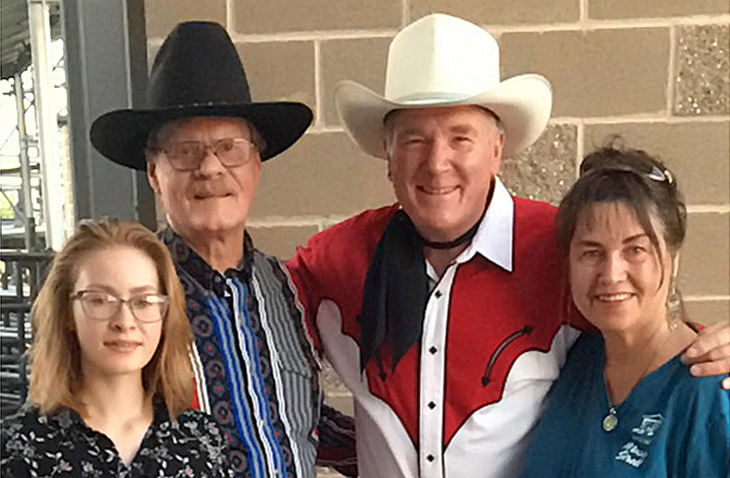 Dusty and John Bascom Family