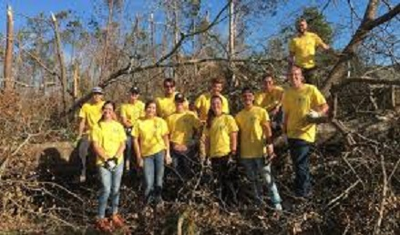 Returned Missionaries Travel Back to Their Mission Area to Serve Victims of Hurricane Michael