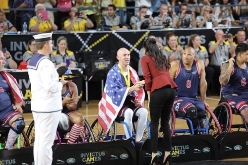 Joshua Smith - 2018 Invictus Games - Meghan Markle - Gold Medal