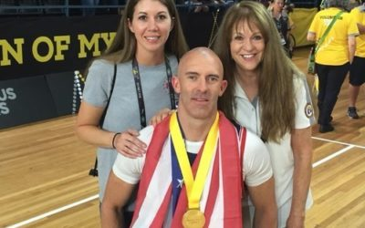LDS Airforce Wounded Warrior Wins 8 Medals at 2018 Invictus Games