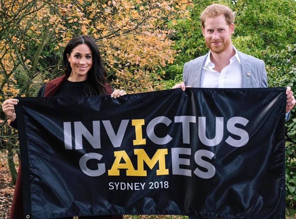 Prince Harry and Meghan Markle - Invictus Games 2018