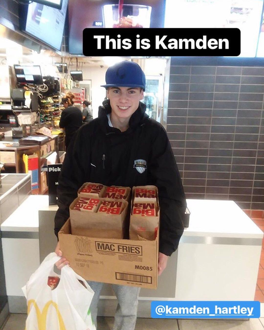 Kamden Hartley - McDonald's Light the World