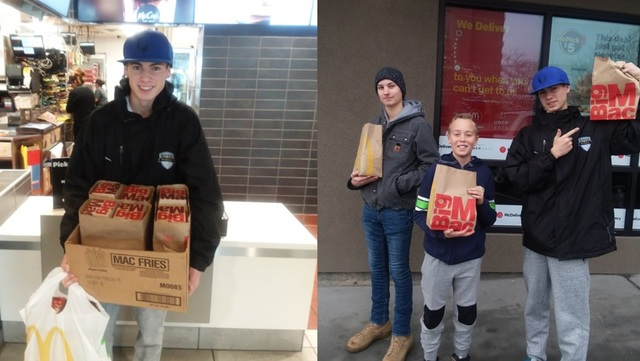 Latter-day Saint Teen Uses McDonald's Big Macs to Help Light the World